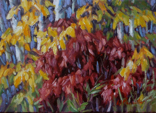 Artist: Audrey  Pfannmuller, Title: Dogwood glow - click for larger image