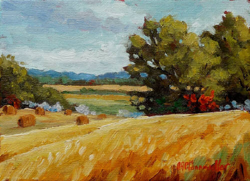 Artist: Audrey  Pfannmuller, Title: Last Field - click for larger image