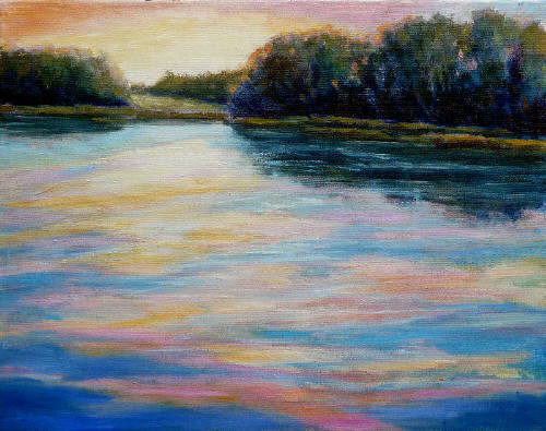 Artist: Audrey  Pfannmuller, Title: Summer Pond - click for larger image
