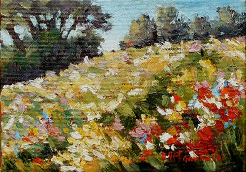 Artist: Audrey  Pfannmuller, Title: Wild Blooms - click for larger image