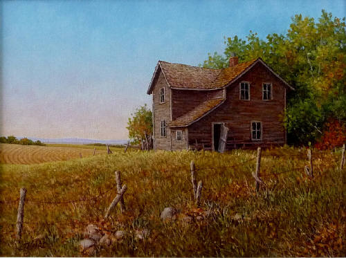 Artist: Joe Haire, Title: A Touch of Autumn - click for larger image