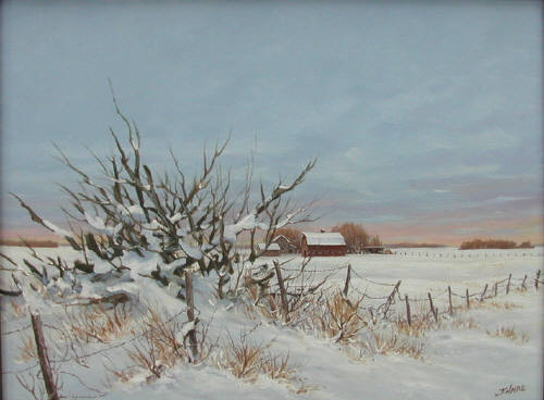 Artist: Joe Haire, Title: Colors of Winter - click for larger image