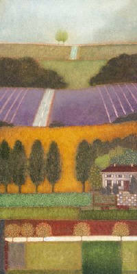Artist: Reproduction Artist, Title: Lavender Hills I - click for larger image